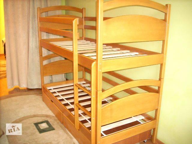 продам Двоярусне ліжко Давид 15% знижка на матраци бу в Львове