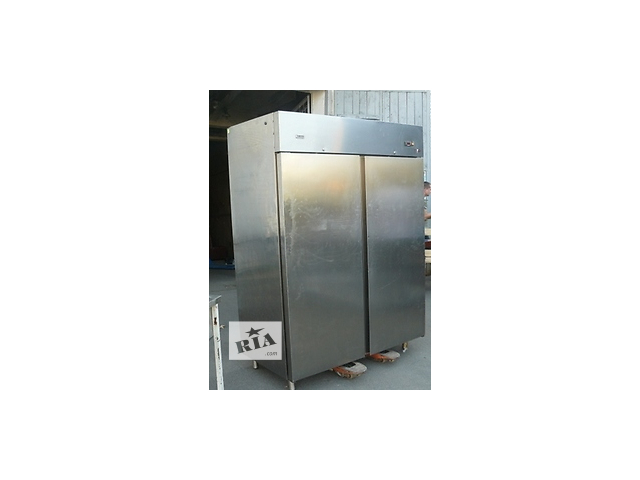 купить бу Двойной холодильный шкаф бу Zanussi для заведений хорека в Киеве