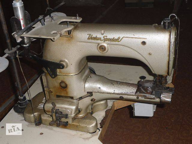 продам Двухголкова швейна машина UNION SPECIAL 31200F бу в Житомире