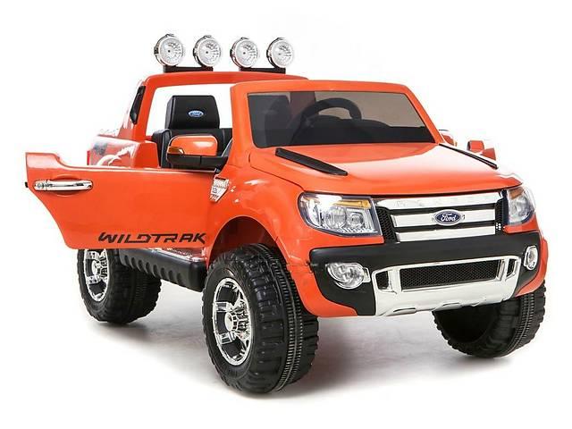 купить бу Двухместный детский электромобиль Ford Ranger M 2764EBR-7 EVA колеса в Одессе