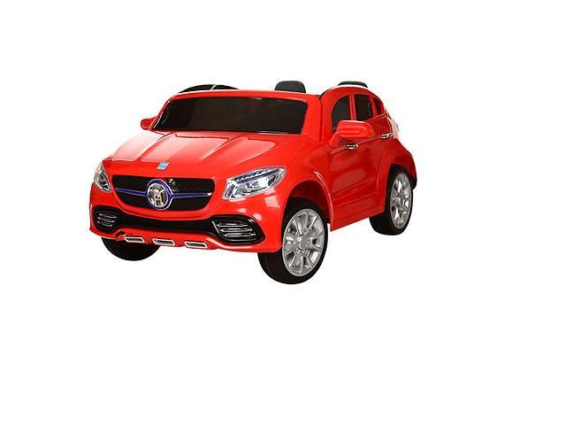 продам Двухместный детский электромобиль JJ 609 EBR-3, на мягких колёсах, красный бу в Львове