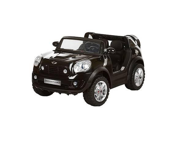 Двухместный детский электромобиль на аккумуляторе JJ 298 BR-2 BMW, чёрный- объявление о продаже  в Львове