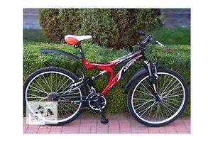 Двухподвесный горный велосипед Azimut Blaster-26 D Новый. Идеальное состояние