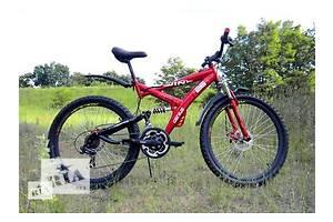 Двухподвесный подростковый велосипед Azimut Wind 24
