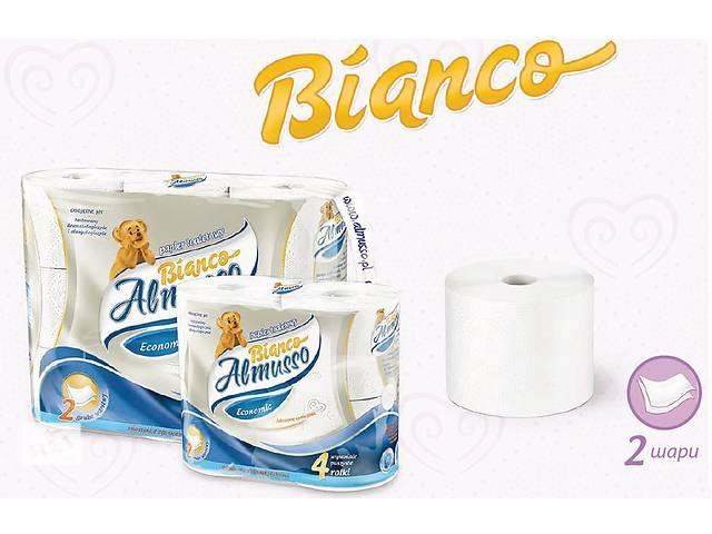 Двухслойная туалетная бумага Almusso Bianco Польша Оптом и в Розницу- объявление о продаже  в Нововолынске