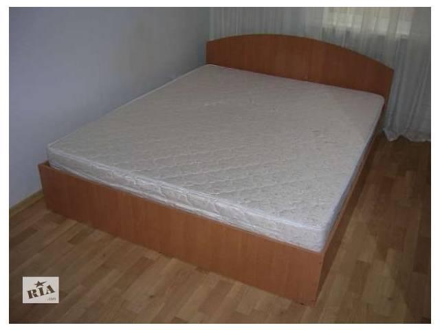 продам Двухспальная кровать с матрасом 160х200.  7 цветов. Доставка бу в Киеве