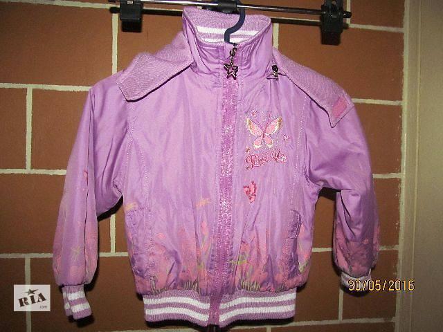 продам Двухсторонняя курточка на девочку весна-осень бу в Запорожье
