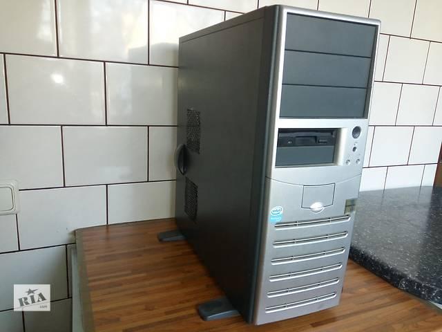 бу Двухядерный 2x2,8GHz, 3Gb DDR2, 256Mb видео, системный блок компьютера в Киеве