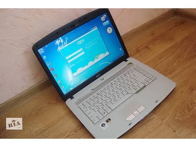 продам Двухъядерный ноутбук Acer 5520G (GeForce 8600, 1024mb) Wi-Fi, Web-камера  бу в Киеве