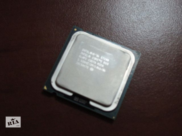 бу Двухъядерный процессор Intel Core 2 Duo E7200(2.53GHz) в Киеве