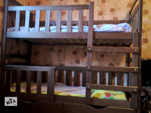 продам Двухъярусная детская кровать Карина-Люкс съемными перегородками! Усиленная конструкция! бу в Киеве