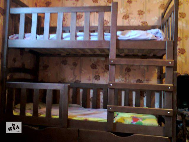 купить бу Двухъярусная детская кровать Карина-Люкс! в Киеве