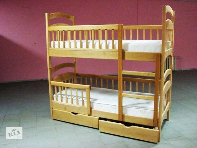 купить бу Двухъярусная кровать Карина люкс усиленная от производителя! Мечта каждого ребенка! в Киеве