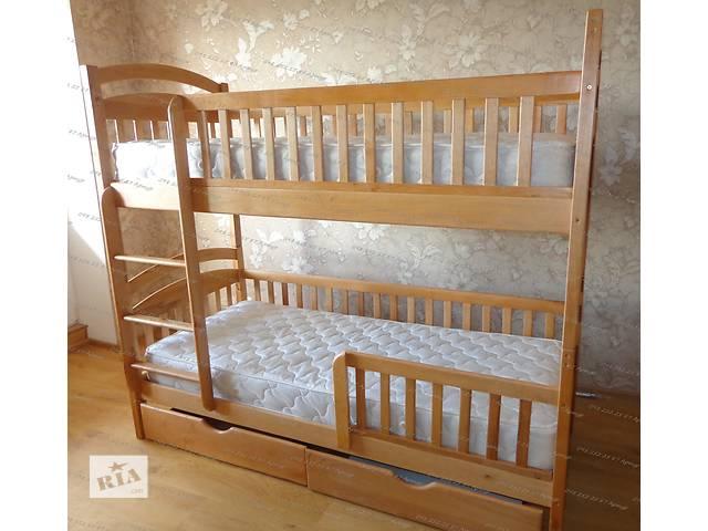 продам Двухъярусная кровать Карина Люкс в полном комплекте с ящиками и с матрасами  напрямую от производителя детской мебели бу в Одессе