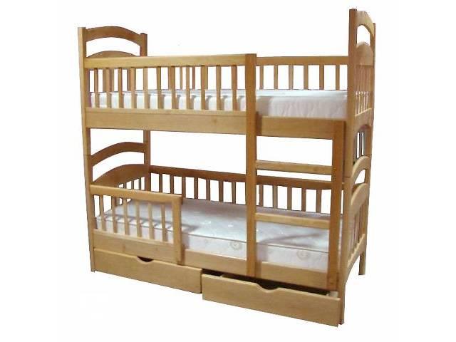 купить бу Двухъярусная кровать Карина-Люкс, в полной комплектации. Цена: 3770 грн. в Киеве