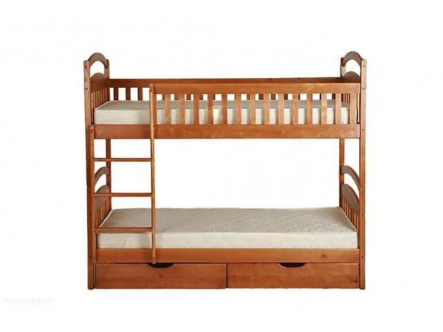 купить бу Двухъярусная кровать Карина с ящиками и с матрасами напрямую от мебельной фабрики в Одессе
