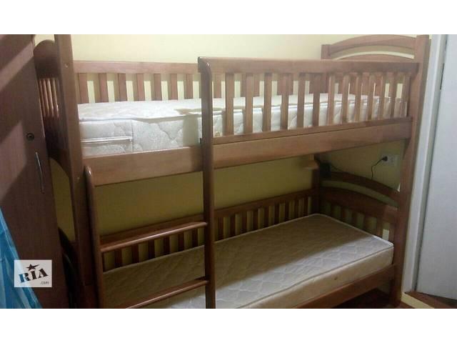 бу Двухъярусная кровать КаринаСП со съемными бортиками в комплекте ящики,матрасы в Одессе