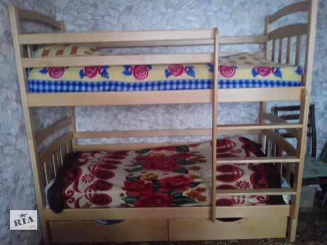 купить бу Двухъярусная кровать-трансформер полулюкс Иринка New в Киеве