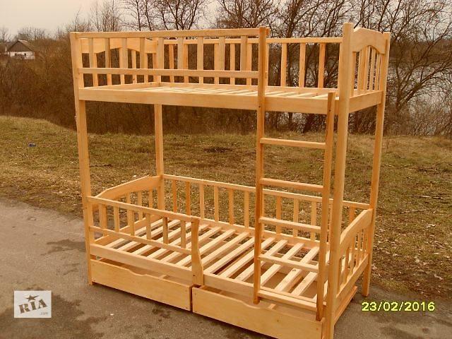 Двухъярусная кровать-цена с ящиками.- объявление о продаже  в Киеве