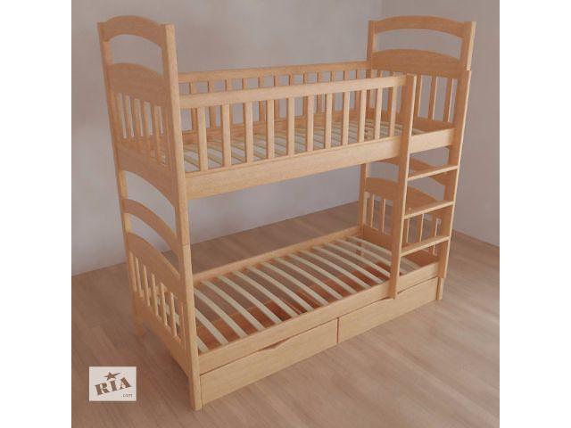 бу Двухъярусная кроватка от производителя, Акция при покупке комплекта в Одессе