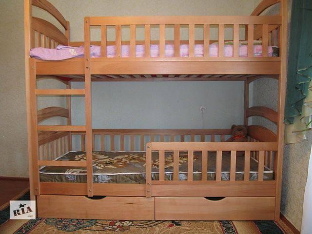 купить бу Двухъярусная кровать для детей - трансформер Карина-Люкс! в Киеве