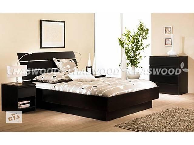 бу Двуспальная кровать Латте из натурального дерева в Киеве
