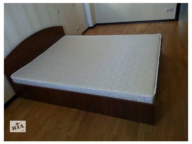 купить бу Двуспальная Кровать с Ортопедическим Матрасом ЭКО в Киеве