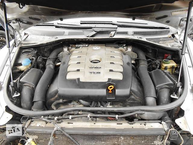 купить бу Двигатель 5.0 TDI Volkswagen Touareg (2003-2005) AYH двигун мотор в Ровно