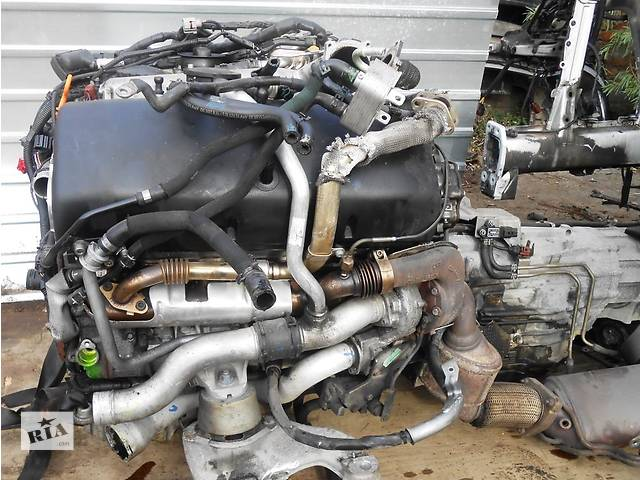 купить бу Двигатель 5.0 TDI Volkswagen Touareg 2003-2009 туарек мотор двигун в Ровно