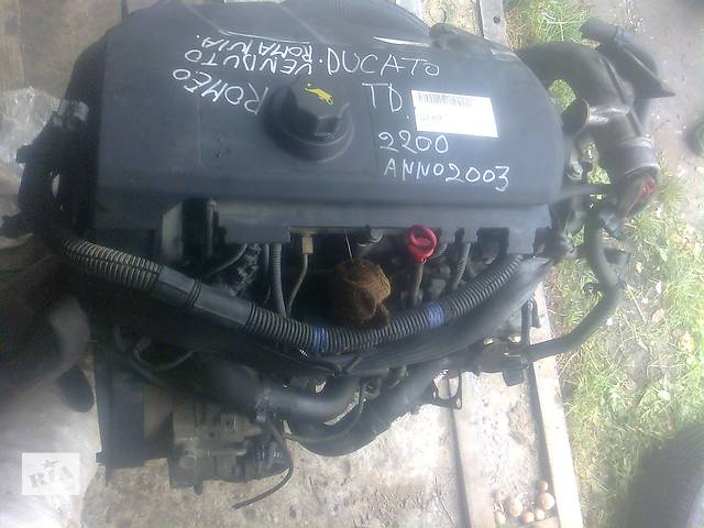 Двигатель для легкового авто Fiat Ducato  2.3 jtd- объявление о продаже  в Бориславе