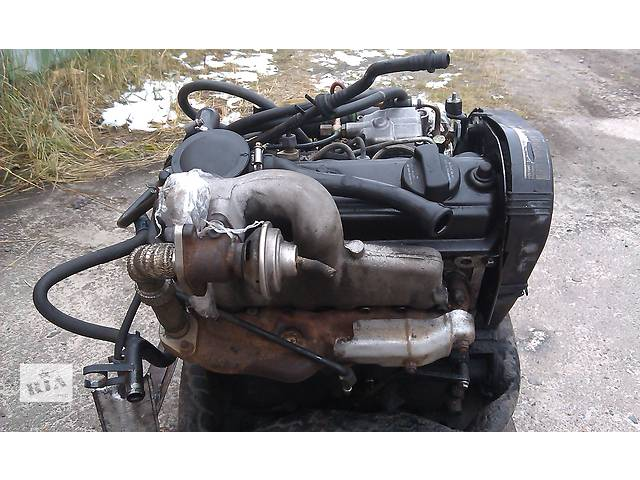 бу  Двигатель для минивена Volkswagen Sharan 1,9 дизель 66 кВт 1996-2000 г.в. в Ровно