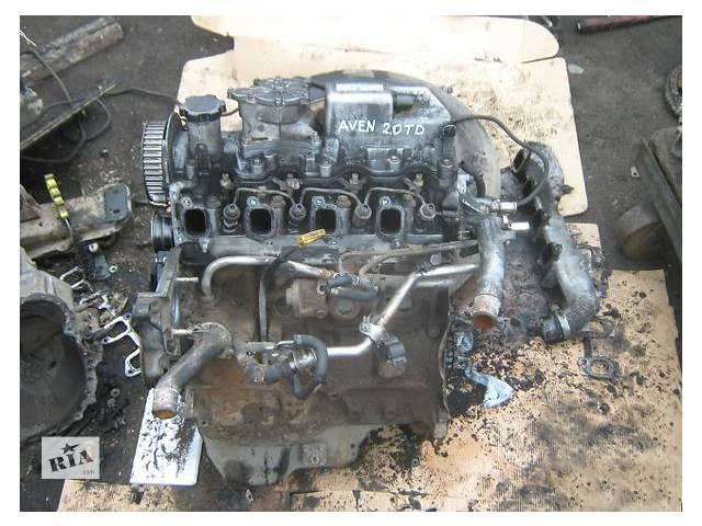 бу Двигатель Toyota Avensis 2.0 TD в Ужгороде