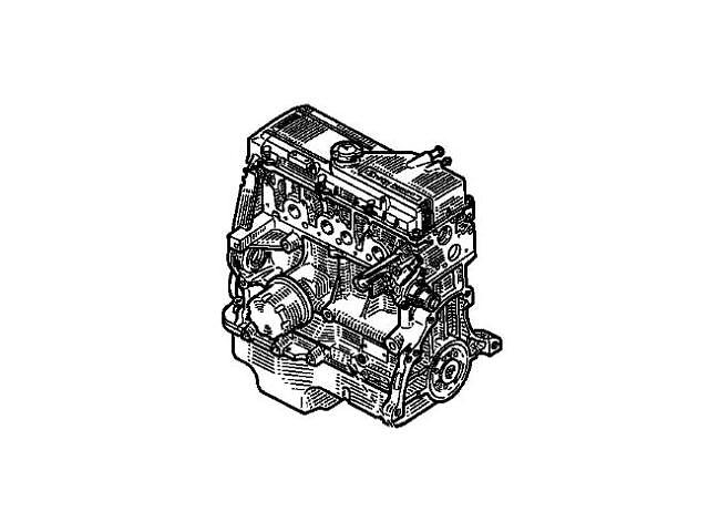 купить бу Двигатель в сборе Dacia SupeRNova E7J 260 Б/У. в Одессе