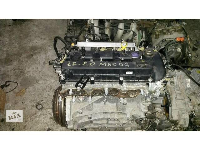 купить бу Двигатель Mazda 3, 6 (LF) 2003-2006 год, 2.0 бенз, не ваносный, щуп мотора из поддона.. в Киеве