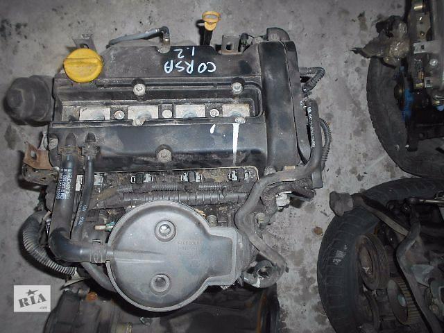 Двигатель для Opel Corsa C 1.2i 2004 Z12XE- объявление о продаже  в Львове