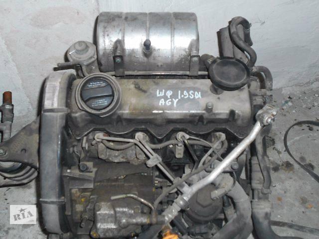Двигатель для Skoda Fabia 1.9sdi, 2003, AGY- объявление о продаже  в Львове