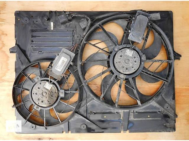 Диффузор с вентиляторами Porsche Cayenne Порше порш кайен кайен 7L0121203F (2003-2009)- объявление о продаже  в Ровно