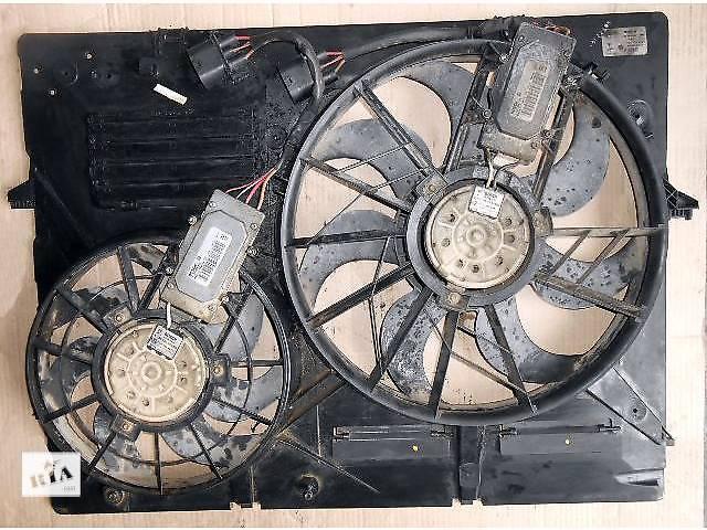 продам  Диффузор с вентиляторами Volkswagen Touareg фольксваген вольксваген туарег 7L0121203F бу в Ровно