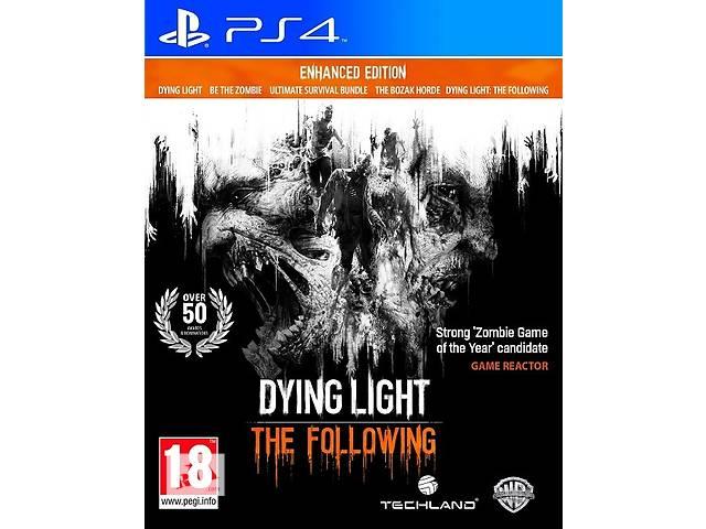 бу Dying Light The Following Enhanced Edition PS4 новый диск / русский в Запорожье