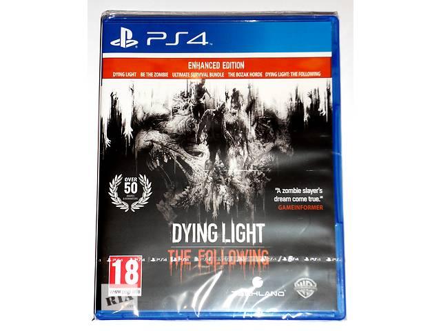 купить бу Dying Light The Following Enhanced Edition PS4 новый диск / русский в Запорожье