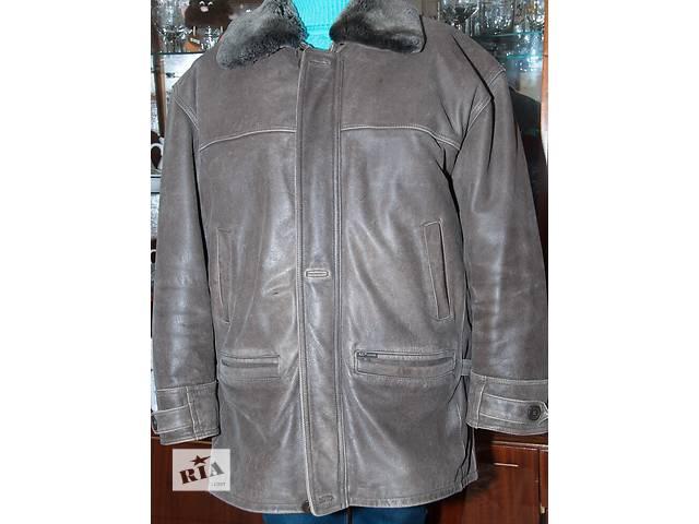 бу Мужская кожаная курточка в Николаеве