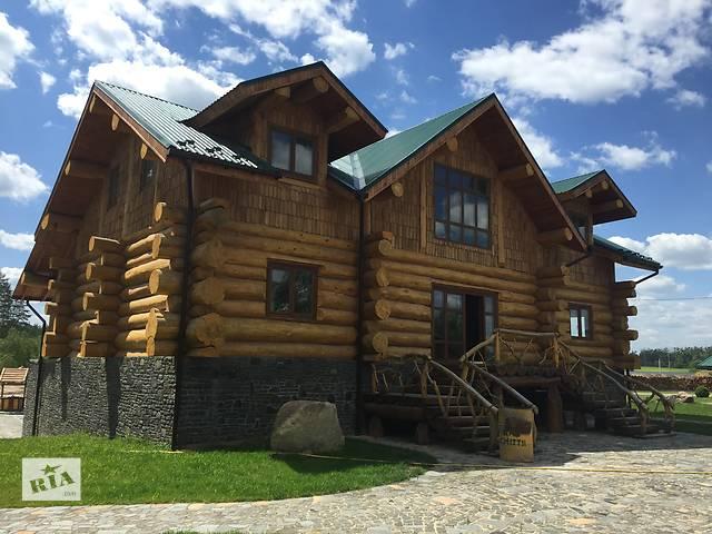 бу Строительство деревянных домов. Дикий канадский сруб  в Украине