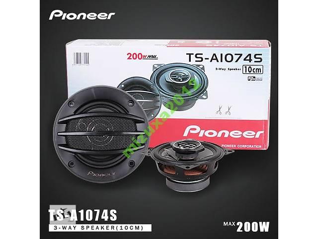 Динамики колонки акустика Pioneer d 10 см TS1074S - объявление о продаже  в Бердянске