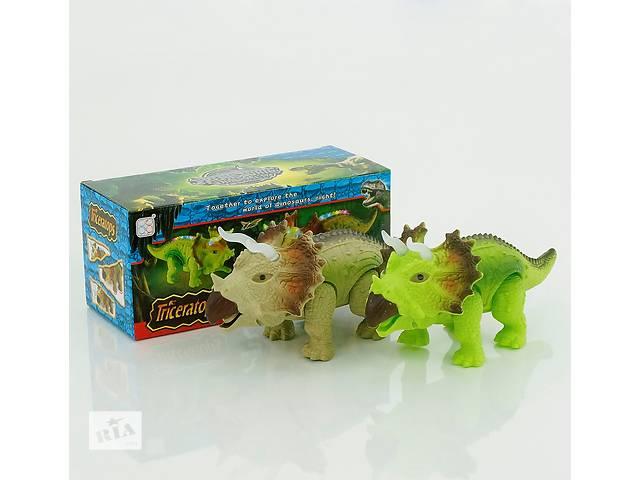 купить бу Динозавр 2 вида, свет, муз., ходит, на батарейке, в коробке в Харькове