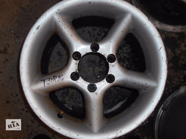 продам диск литой для Nissan Patrol, Terrano 1996 R16 бу в Львове
