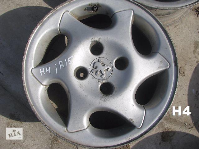 купить бу диск литой для Peugeot 206 1999 R15 в Львове