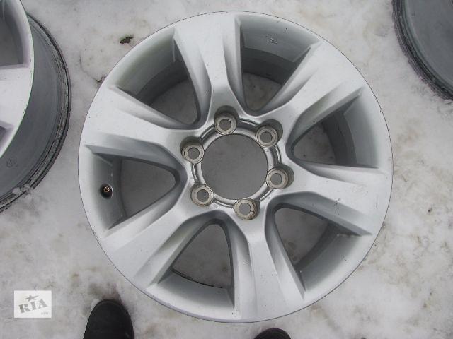 купить бу диск литий для Toyota Land Cruiser Prado 150 2013 R17 в Львове