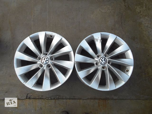 купить бу диск для Volkswagen CC, 2009, R17, 2шт в Львове