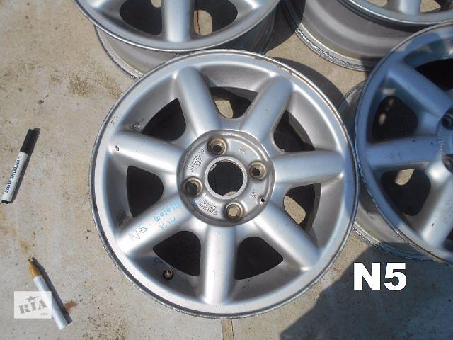 продам диск литой для Volkswagen Golf IIІ Passa B4 1994 R14 бу в Львове