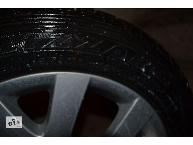купить бу Шины с дисками BRIDGESTONE 235/55/R18,9мм,4шт. в Полтаве
